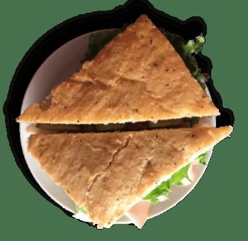 Turkey Pesto sandwhich